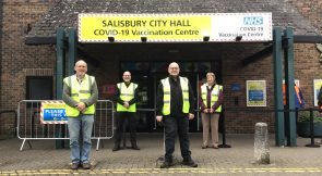 Sarum Rotary Supports COVID Vaccination Efforts in Salisbury